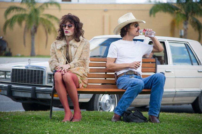 Dallas Buyers Club. Regie: Jean-Marc Vallée. Cast: Matthew McConaughey, Jared Leto, Jennifer Garner, e.a. Speelduur: 117 min. Source image: IMDB