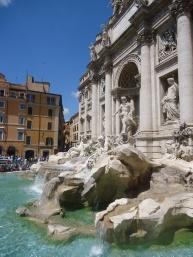De Trevi fontein