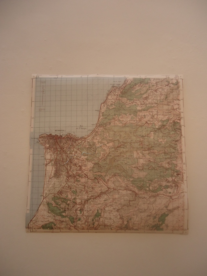 Stéphanie Saadé, 'Nostalgic Geography', 2013.