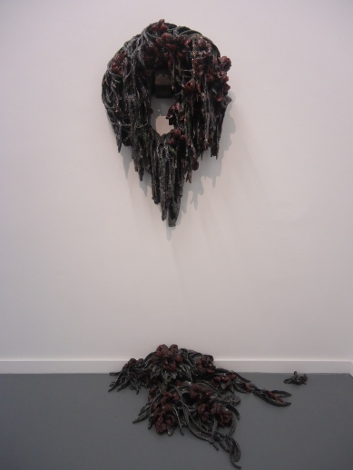 Requiem of Heroism (wreath, red lilies), 2010.