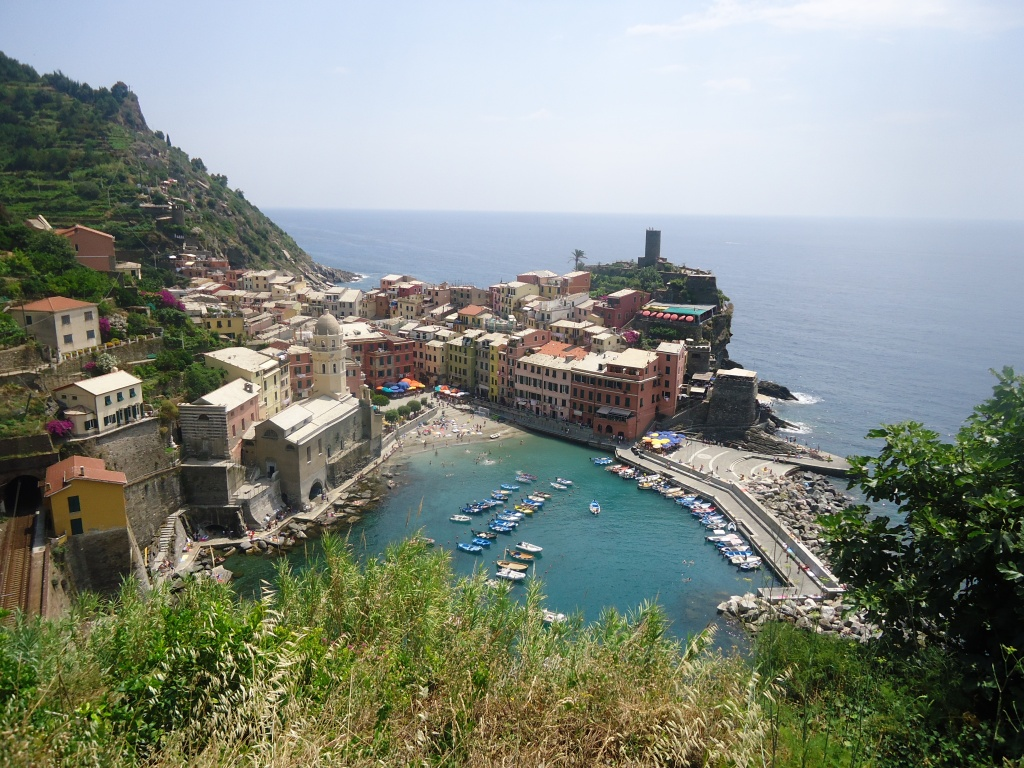 Vernazza, een van de vijf dorpjes van Cinque Terre