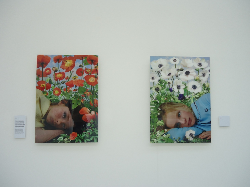 Ruud van Empel. Dawn #3 (links) en Dawn #4 (rechts), beide 2008.