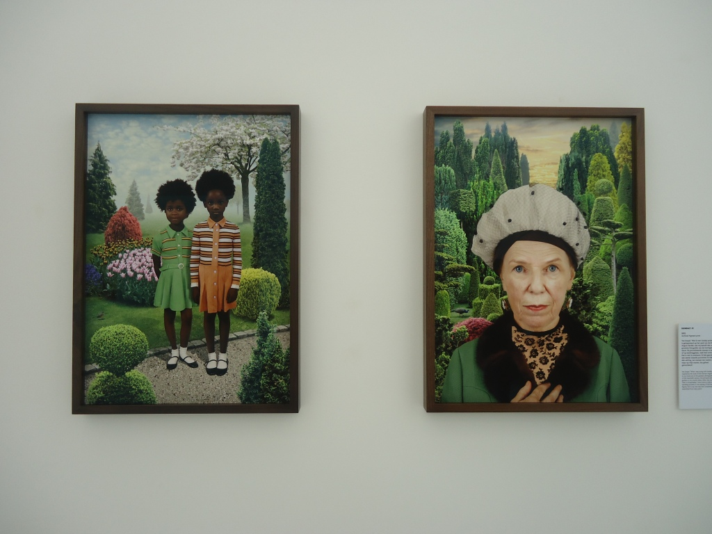 Ruud van Empel, Sunday #4 (links) en Sunday #9 (rechts), beide 2012.