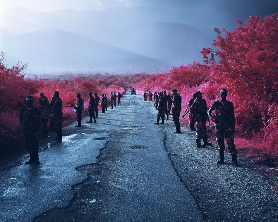 Richard Mosse, First we take manhattan, 2012. Copyright: Richard Mosse, courtesy of the artist and jack shainman gallery, new york.