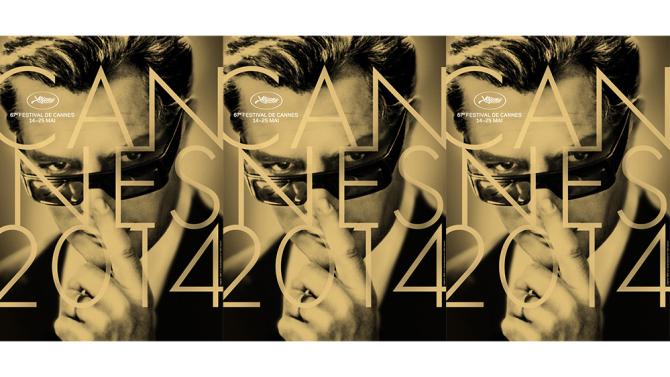 Poster van het Filmfestival in Cannes