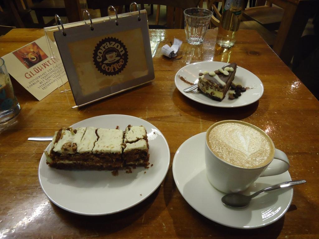 Heerlijke koffie en taart