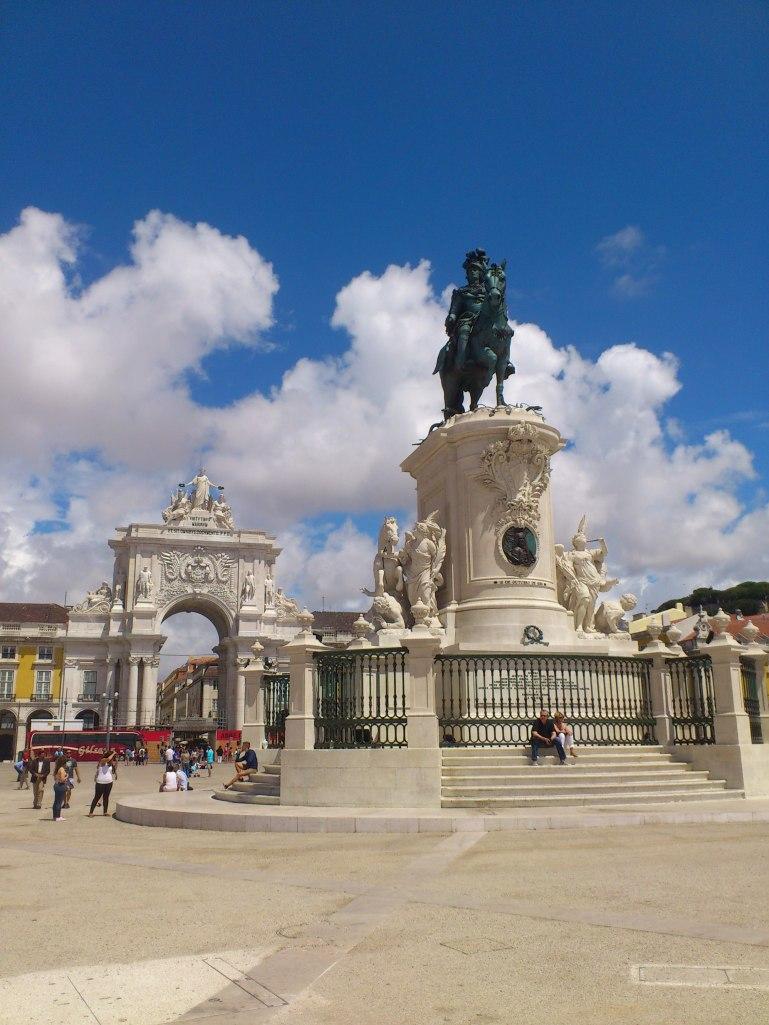 Het indrukwekkende Praça do Comércio