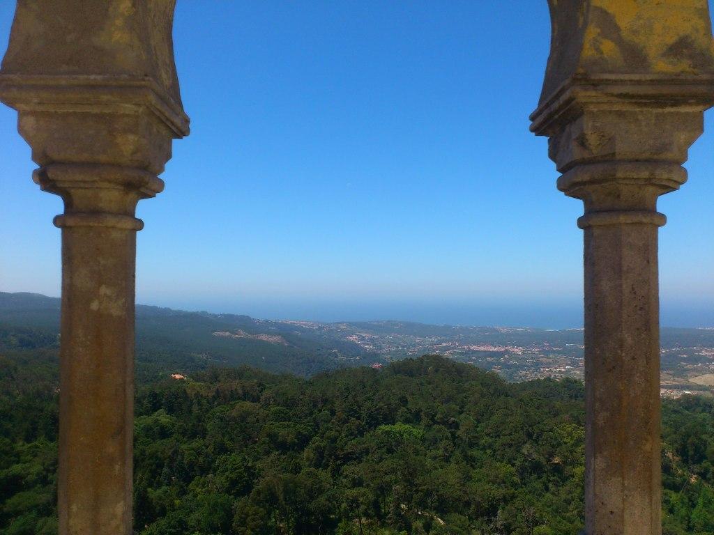 Uitzicht vanaf Palácio da Pena