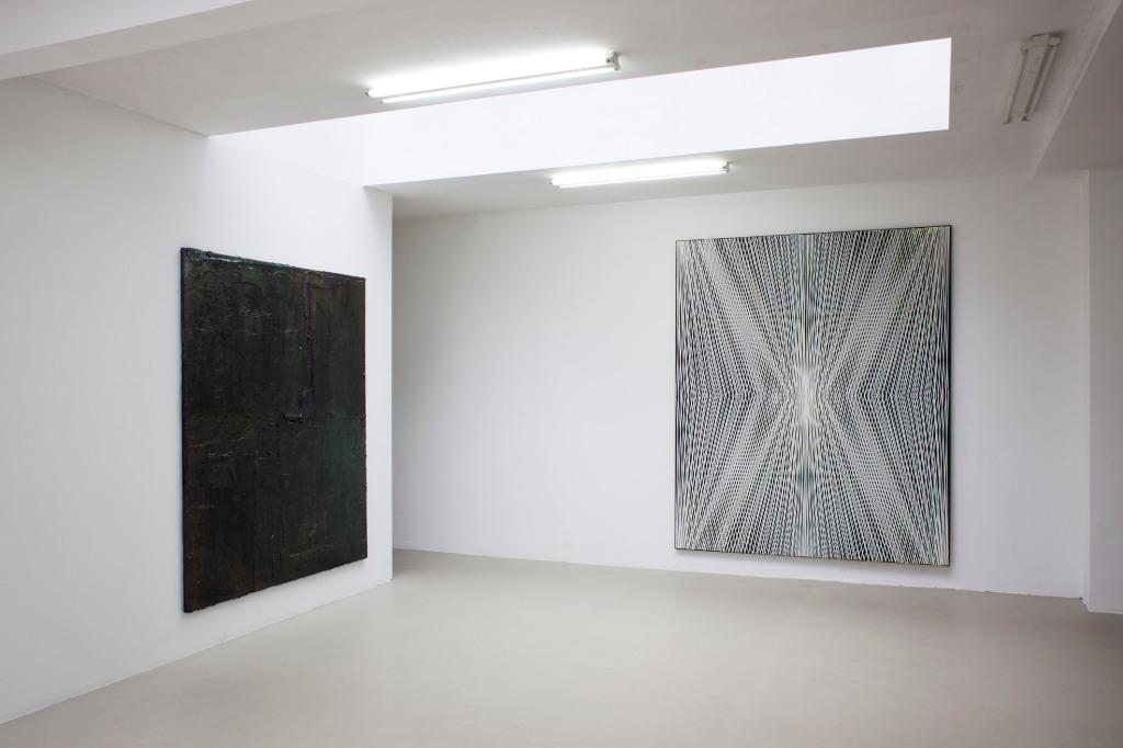 Zaalzicht bij galerie Juliette Jongma