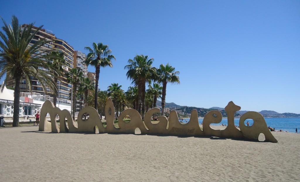 Malagueta, het strand van Málaga