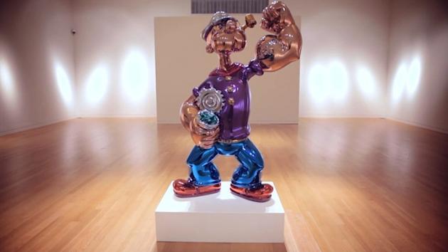 Jeff Koons, Popeye
