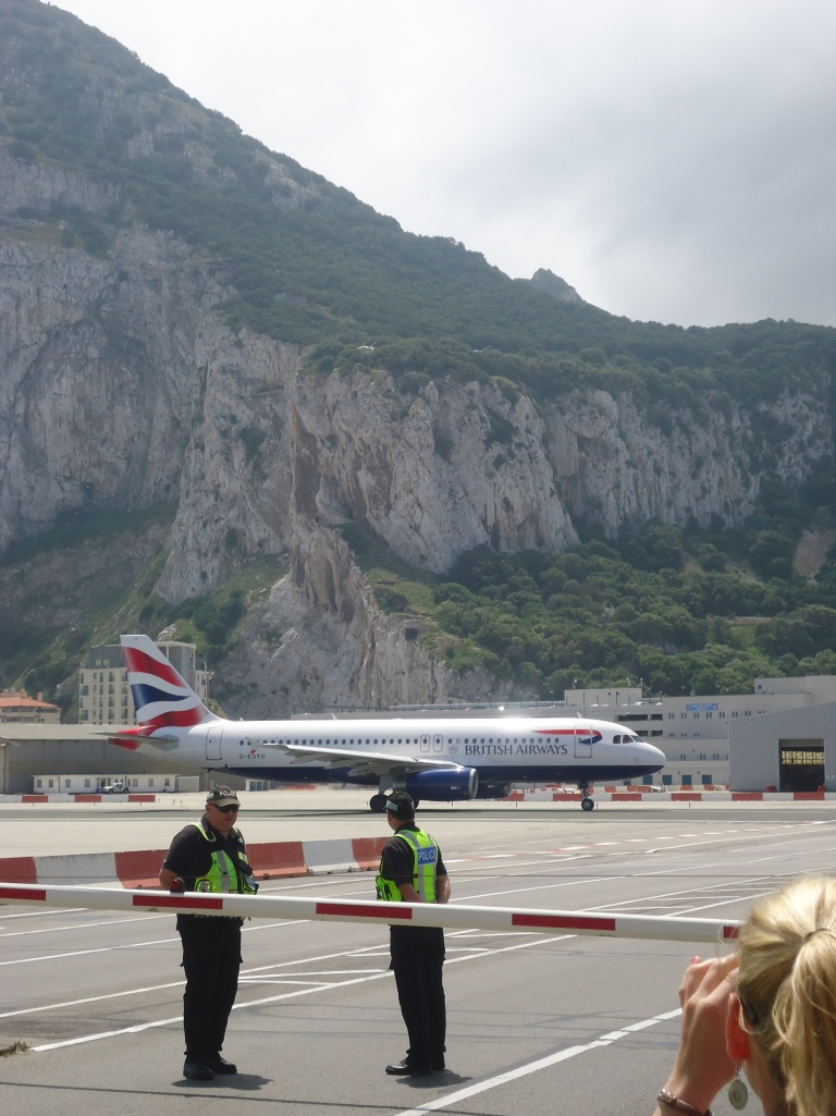 Vliegtuig in actie