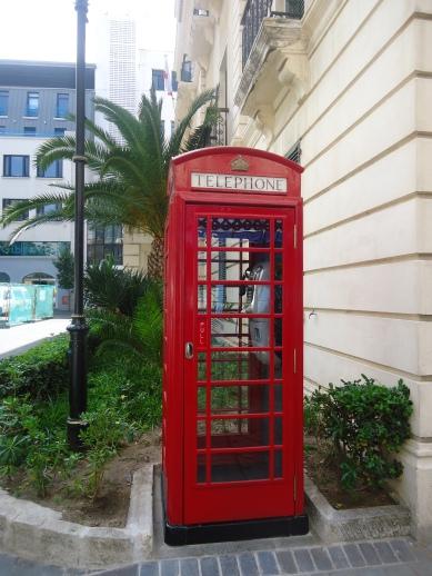 Rode telefooncel