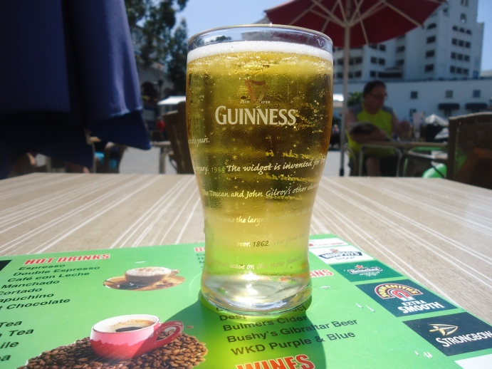Bulmers in een Guinness glas