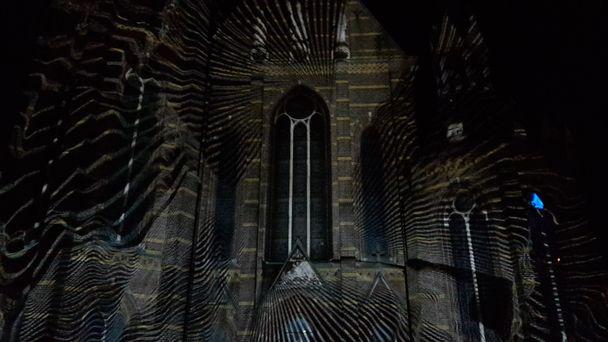 GLOW. Augustijnenkerk, The Macula, Stereo