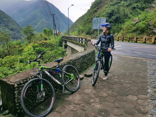 Mountainbiken in Ecuador