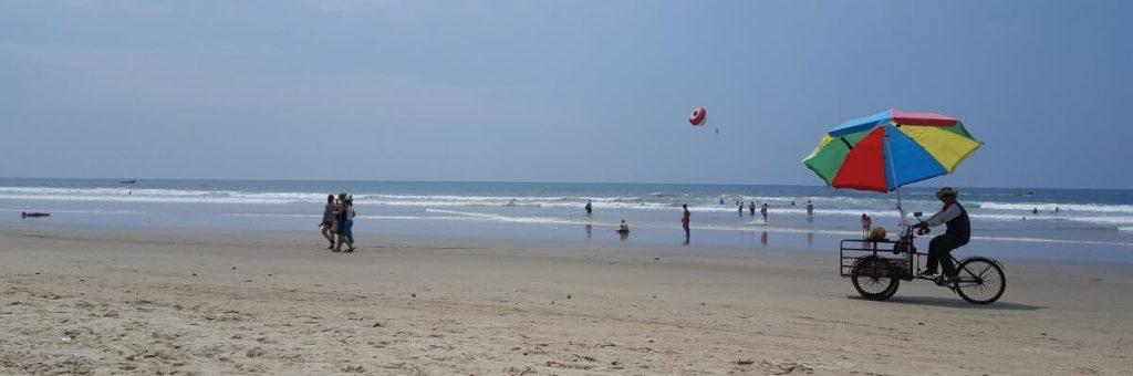 Het strand van Montañita