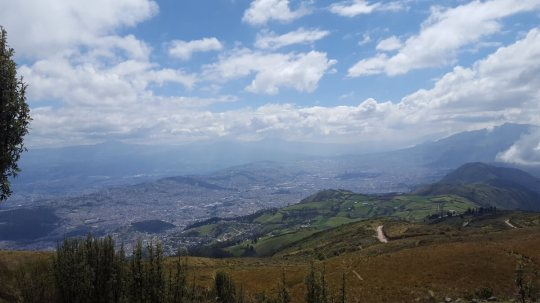 Uitzicht vanaf de Teleferico