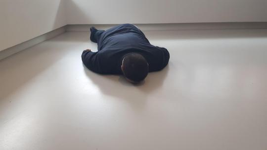 Death of Marat, He Xiangyu, 2011